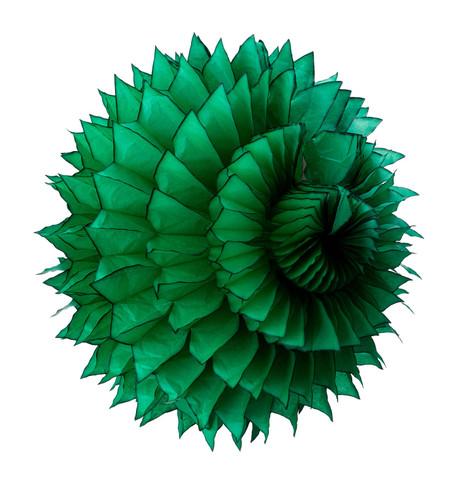 PAPER PETAL BALL - GREEN Green