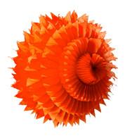 PAPER PETAL BALL - ORANGE - Orange