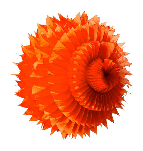 PAPER PETAL BALL - ORANGE Orange