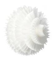 PAPER PETAL BALL - WHITE - White