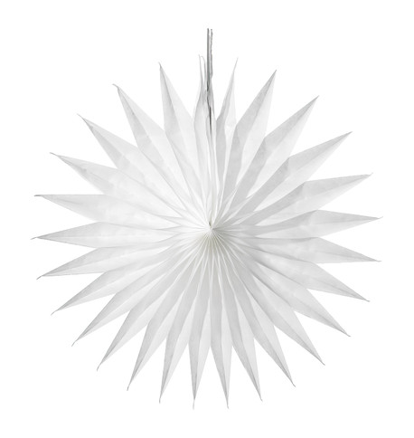SPIKY FAN - WHITE White