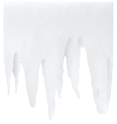 ICICLE PANEL White