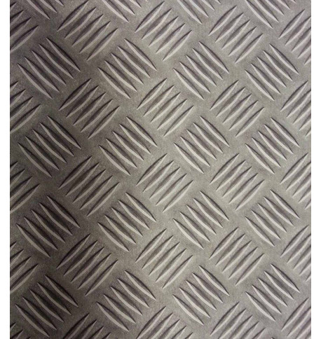METALLIC PHOTOPRINT FABRIC Grey