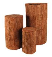 TREE STUMP SET - Natural