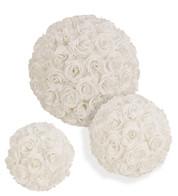 ROSE BALL WHITE - White
