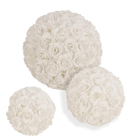 ROSE BALL WHITE White