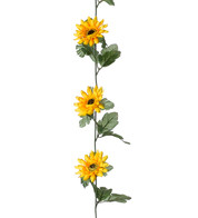 SUNFLOWER GARLAND - Multi