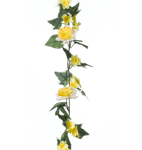 DAFFODIL GARLAND Yellow And Green