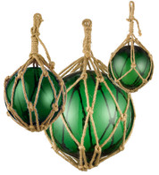 GLASS BUOYS - GREEN - Green