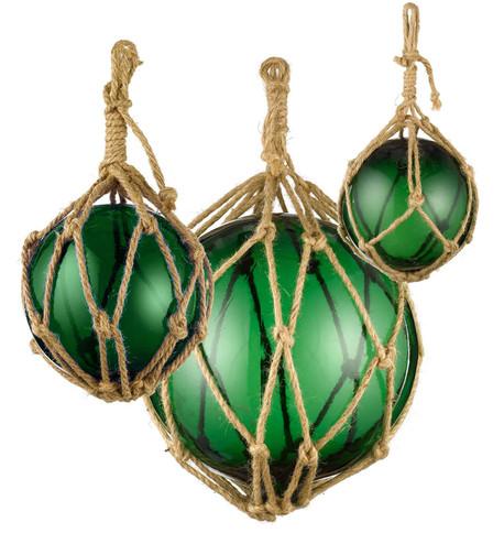 GLASS BUOYS - GREEN Green