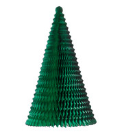 FOLD OUT PAPER CHRISTMAS TREE - GREEN - Green