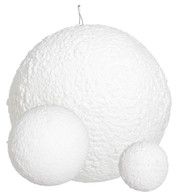SNOWBALLS - TEXTURED  - White