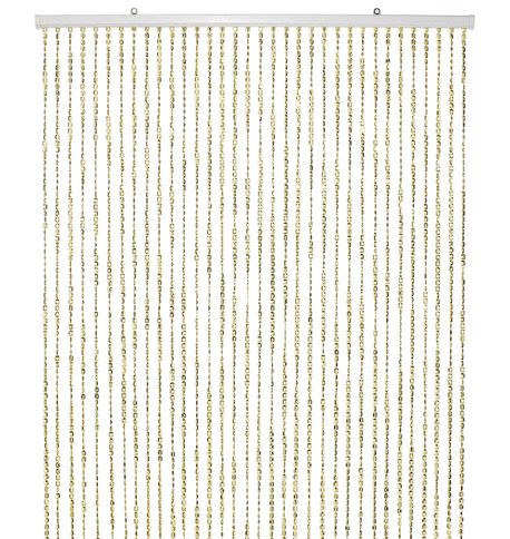 BEAD CURTAIN GOLD Gold