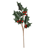 GIANT HOLLY BRANCH - Green & Red