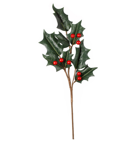 GIANT HOLLY BRANCH Green & Red