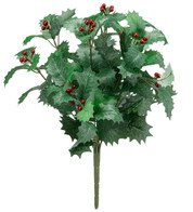 HOLLY BUNCH - Green & Red