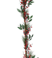PINE & BERRY GARLAND - Multicolour