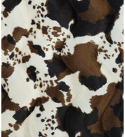 RODEO COW TEXTURED VELVET - Multi