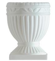 ROMAN URN - White