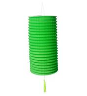 PAPER COLUMN LANTERN - GREEN - Green