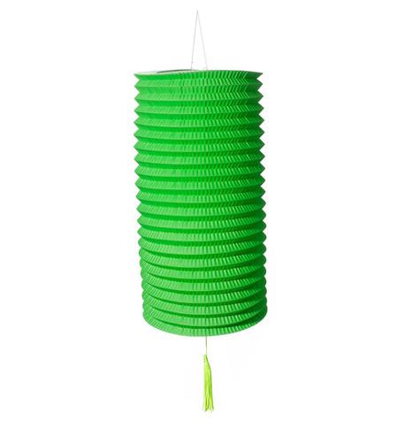 PAPER COLUMN LANTERN - GREEN Green