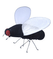 NET FLIES - Black