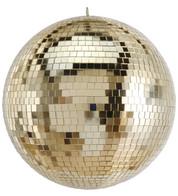 Gold Mirror Balls - Gold