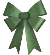 GLITTER BOWS - GREEN - Green