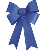 GLITTER BOWS - BLUE - Blue