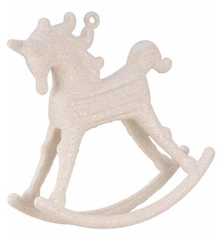 ROCKING HORSE DECORATION - IRIDESCENT Iridescent