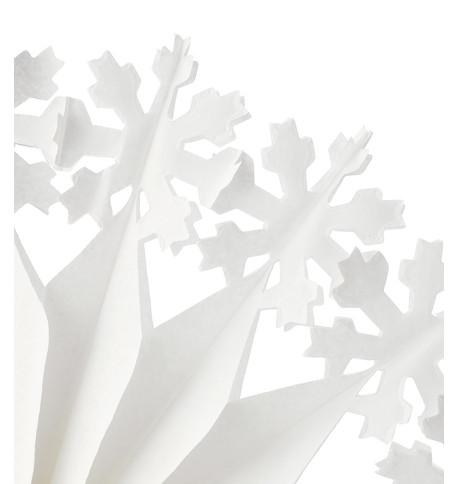 PAPER SNOWFLAKE - STYLE 3 White