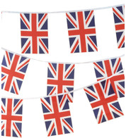 UNION JACK BUNTING - Red White And Blue
