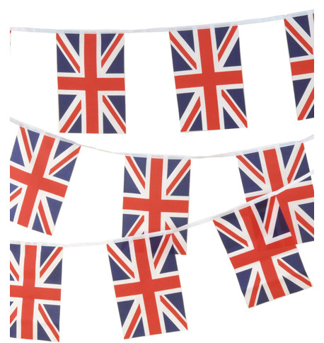 UNION JACK BUNTING Red White And Blue