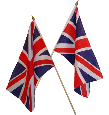 UNION JACK HAND FLAGS Multi