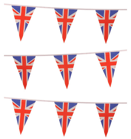 UNION JACK TRIANGLE BUNTING Multi