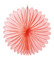 FLOWER FAN - CORAL - Coral