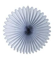 FLOWER FAN - GREY - Grey