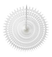 PERFORATED FAN - WHITE - White