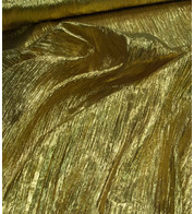 Gold Crushed Tafetta - Gold