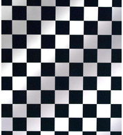 CHESS PVC - Black And White
