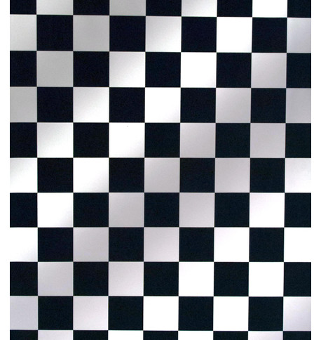 CHESS PVC Black and White
