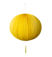 PAPER BALL LANTERN - YELLOW - Yellow