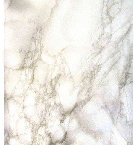 WHITE MARBLE PVC White