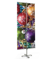 BANNER STAND - Silver