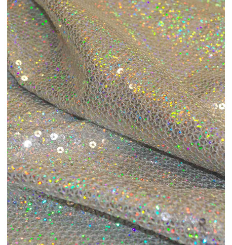 GLAMOUR - SILVER HOLOGRAPHIC Silver Holographic