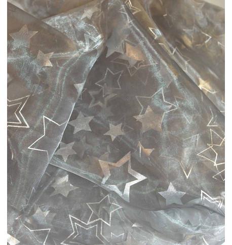 POLARIS STAR VOILE - SILVER Silver