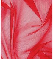 CHIFFON - RED - Red