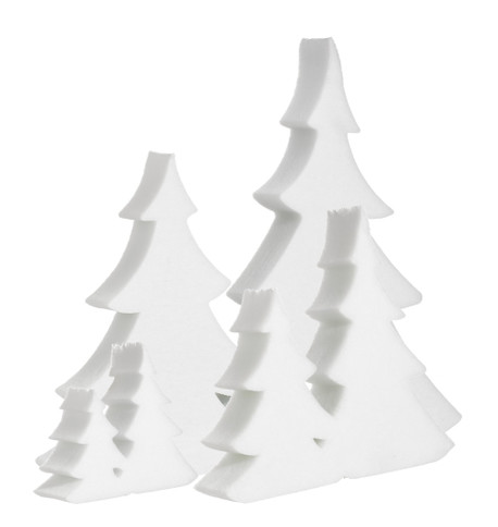 DOUBLE FIR TREE White