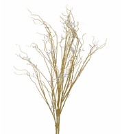 GLITTERED BRANCHES - GOLD - Gold
