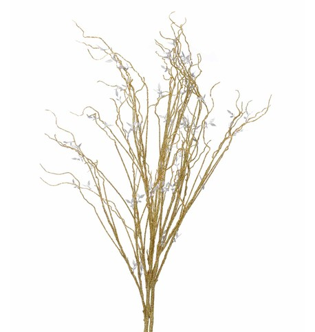 GLITTERED BRANCHES - GOLD Gold